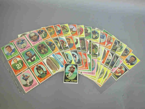 20: 1958 Topps complete set of football trading