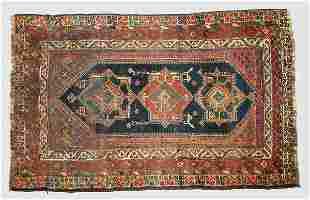 A Ghashai Oriental rug made as a wedding