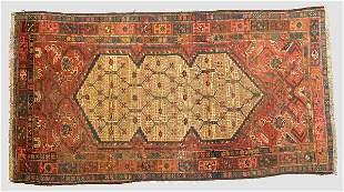 A Hamidan Oriental rug.