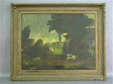 402 Large English school oil on canvas Devonshire
