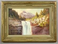 187: Robert William Wood oil painting on canvas