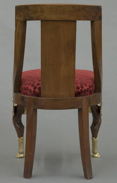 French Empire style side chair - 4