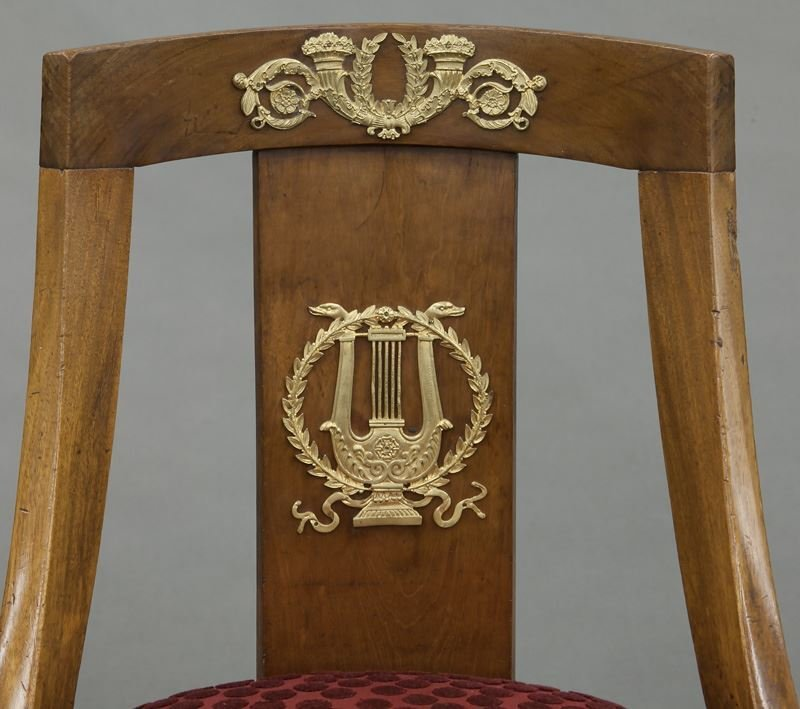 French Empire style side chair - 6