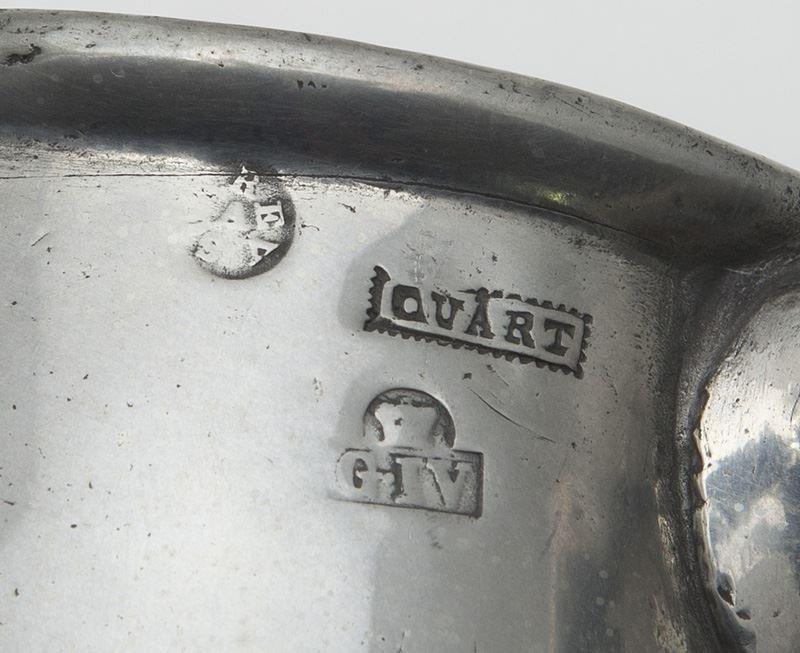 33 Pcs. Antique pewter, - 10