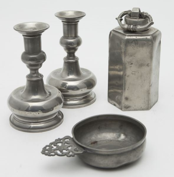 33 Pcs. Antique pewter, - 3