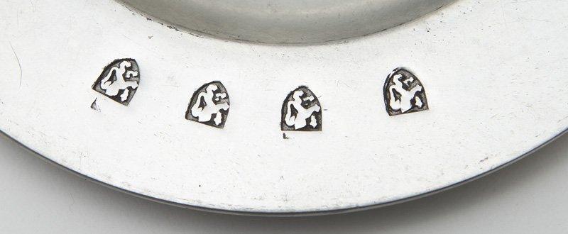 33 Pcs. Antique pewter, - 8