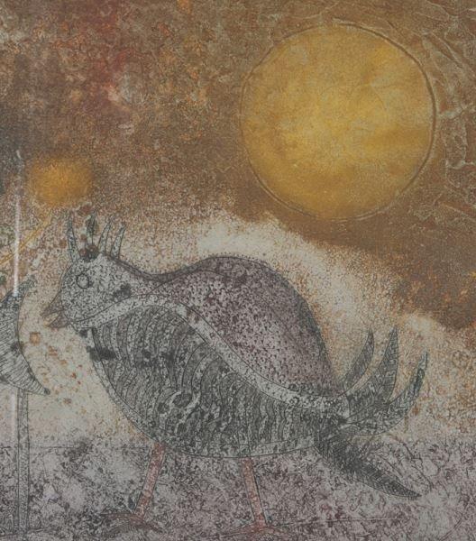 """Tedulo Rmulo """"Astronauta con gallina"""" color - 5"""