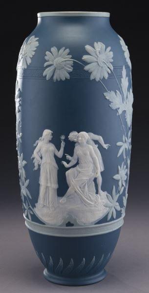 Mettlach pate-sur-pate vase - 3