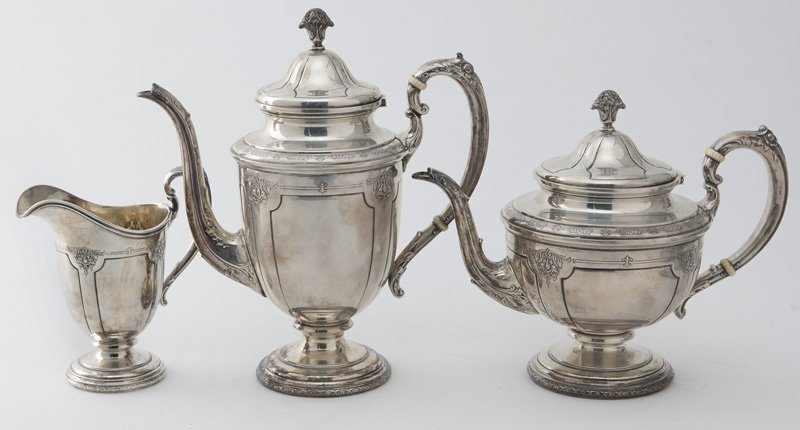 Towle 6pc. Louis XIV sterling silver tea service - 3