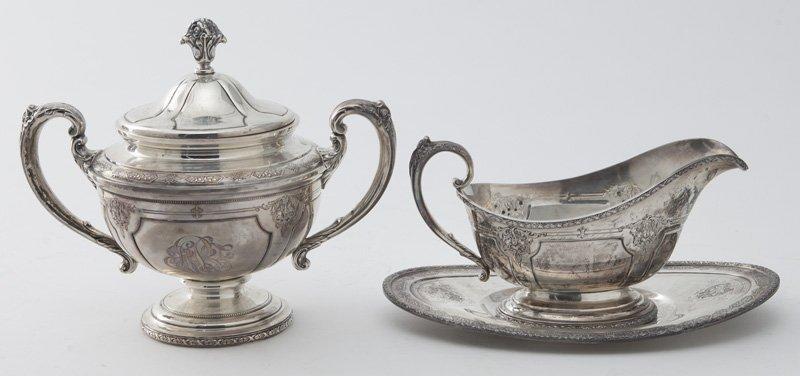 Towle 6pc. Louis XIV sterling silver tea service - 4