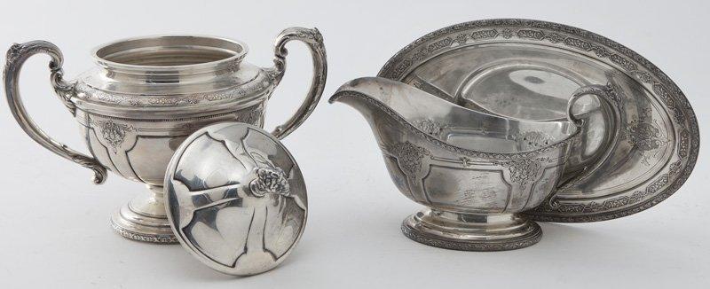 Towle 6pc. Louis XIV sterling silver tea service - 5