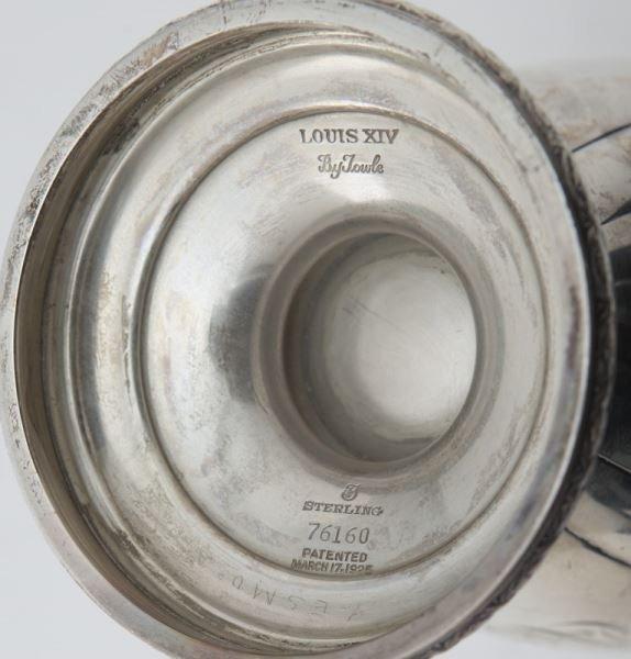 Towle 6pc. Louis XIV sterling silver tea service - 7