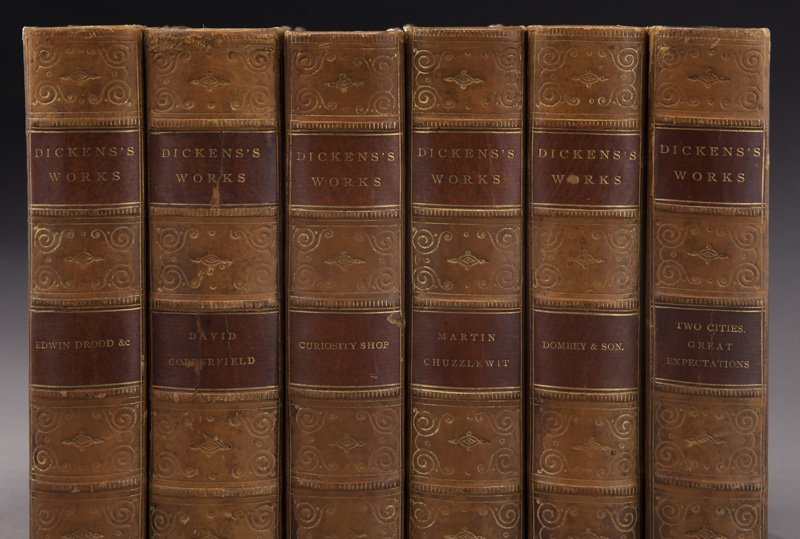 11 Volumes of The Works of Charles Dickens, - 2
