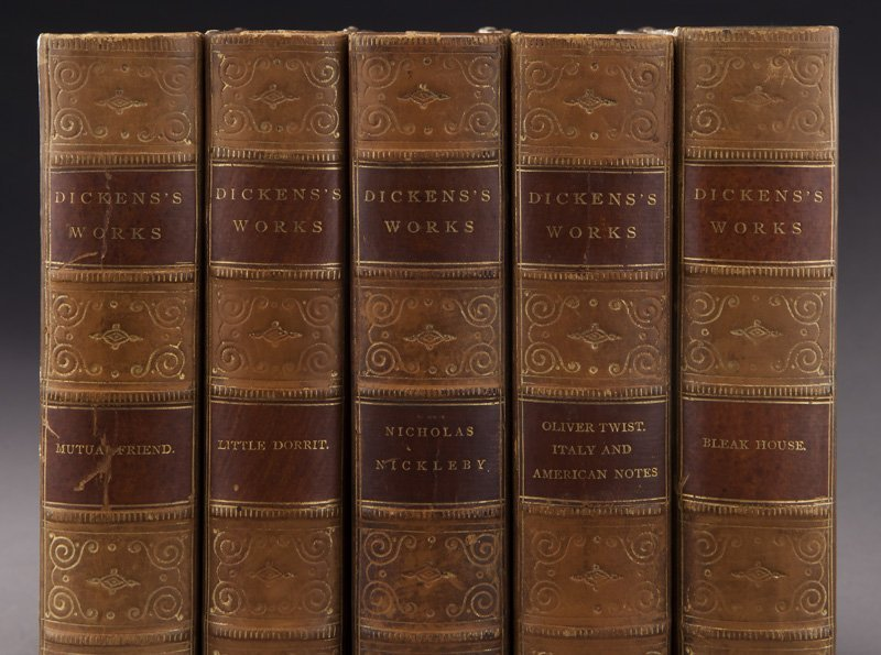11 Volumes of The Works of Charles Dickens, - 3