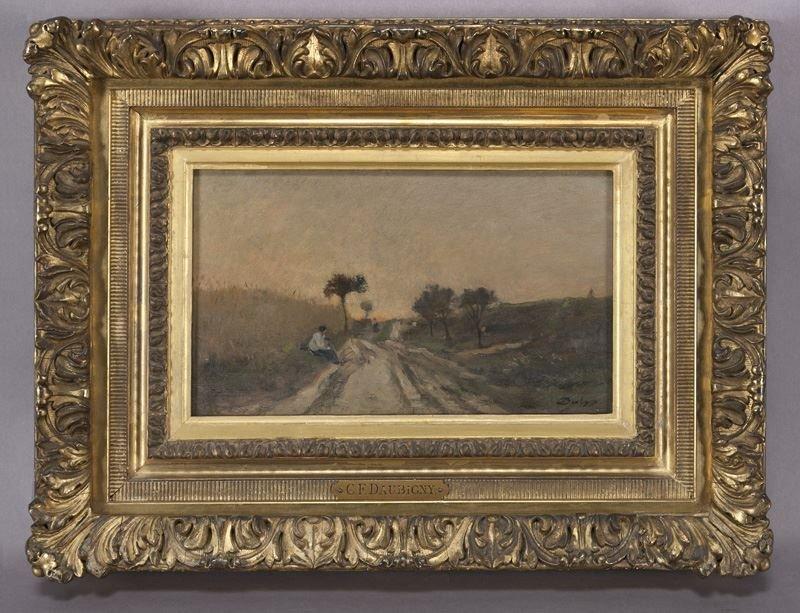 "Charles Francois Daubigny, ""Untitled (Landscape"