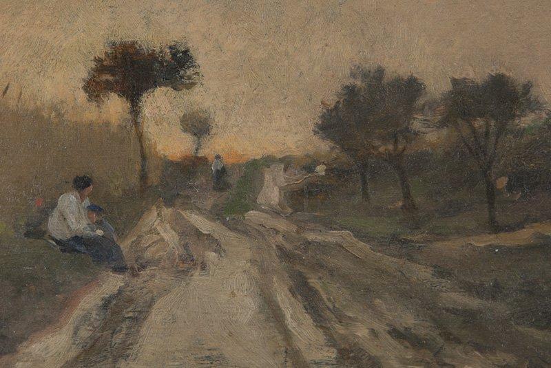"Charles Francois Daubigny, ""Untitled (Landscape - 4"