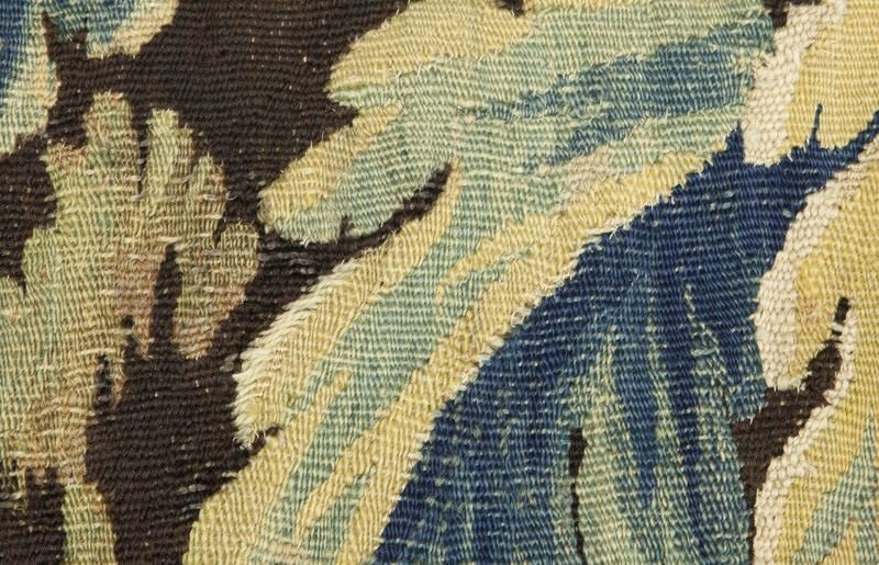 18th C. Aubusson tapestry panel depicting - 6
