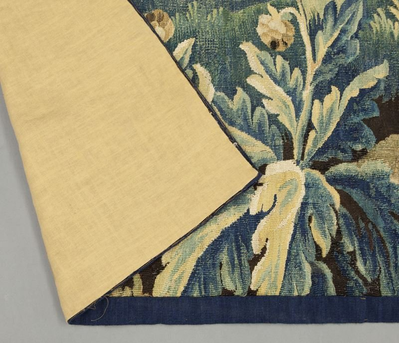18th C. Aubusson tapestry panel depicting - 7