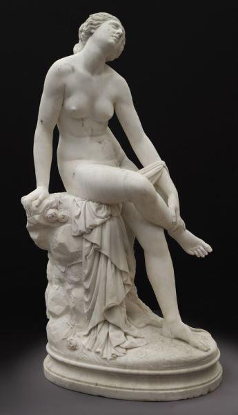 Francois Felix Roubaud marble sculpture of