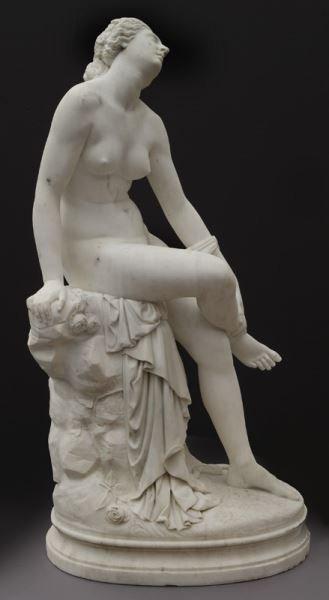 Francois Felix Roubaud marble sculpture of - 2