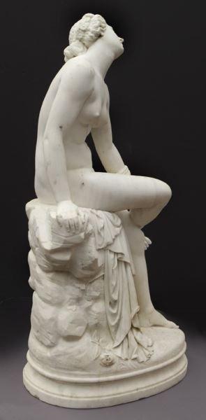 Francois Felix Roubaud marble sculpture of - 3