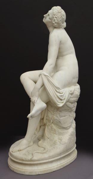 Francois Felix Roubaud marble sculpture of - 6