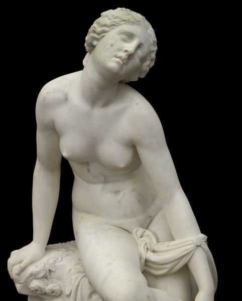 Francois Felix Roubaud marble sculpture of - 7