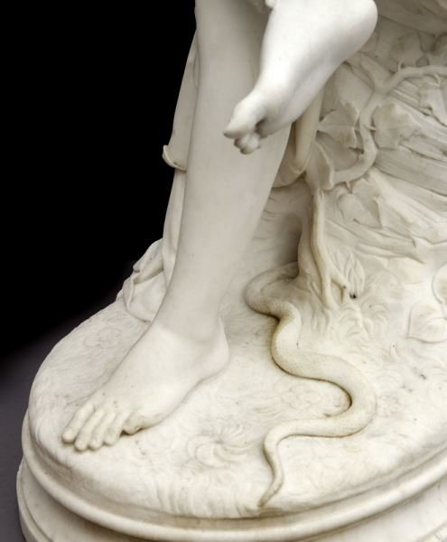 Francois Felix Roubaud marble sculpture of - 9
