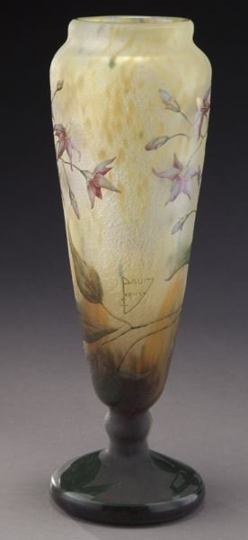 Daum Nancy French cameo glass vase, - 3