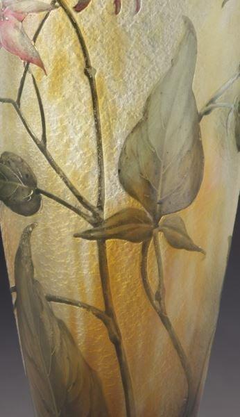 Daum Nancy French cameo glass vase, - 7
