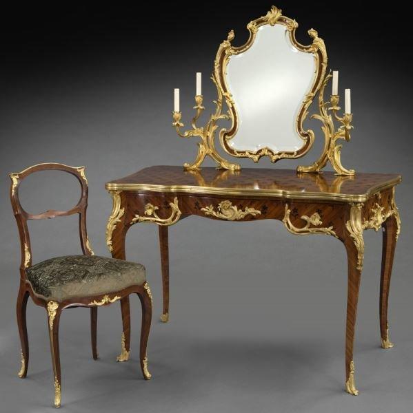 Signed Sormani Louis XV style ladies dressing