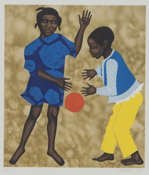(6) Works by Elizabeth Catlett from the series, - 6