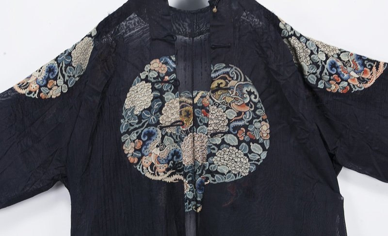 Chinese Qing embroidered robe - 5