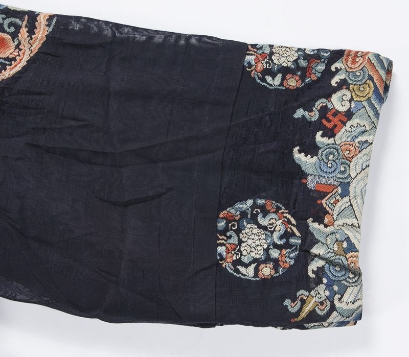 Chinese Qing embroidered robe - 6
