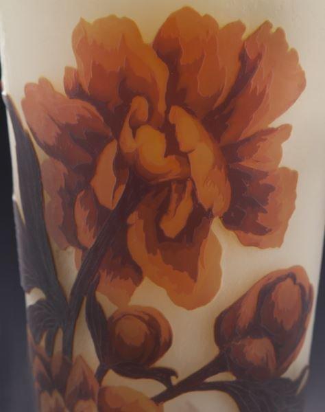 Mueller Fres Luneville cameo glass vase, - 5