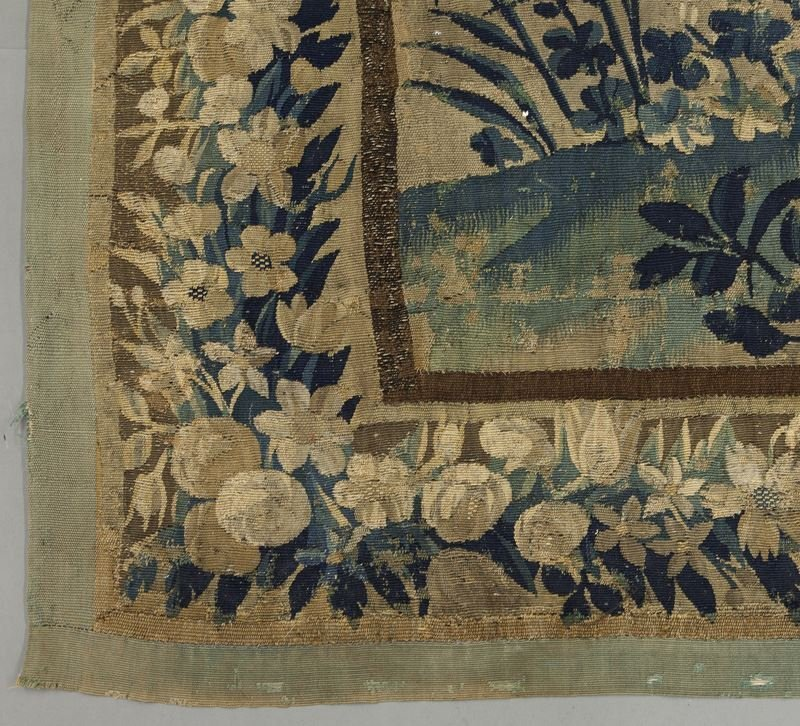 19th C. Aubusson tapestry panel depicting - 4