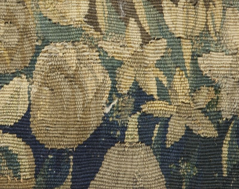 19th C. Aubusson tapestry panel depicting - 6
