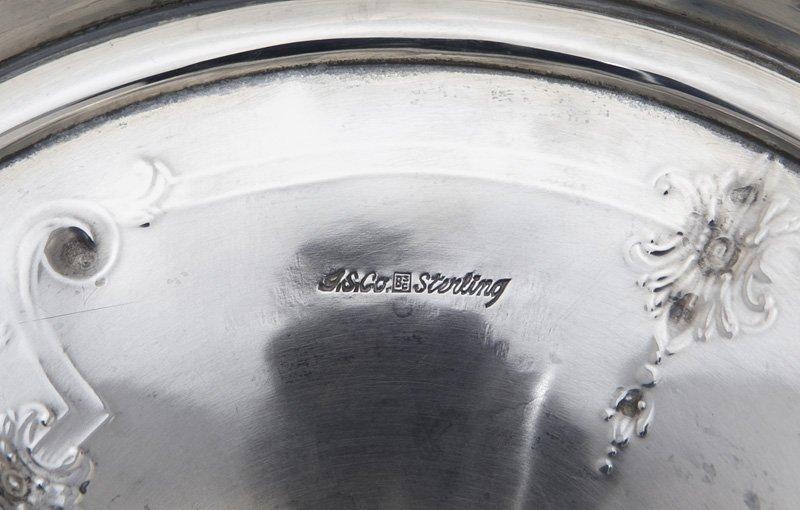 Barbour Silver Co. & Intl. sterling silver vase, - 7