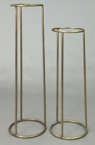 Pr. Walter Lamb bronze plant stands, - 2