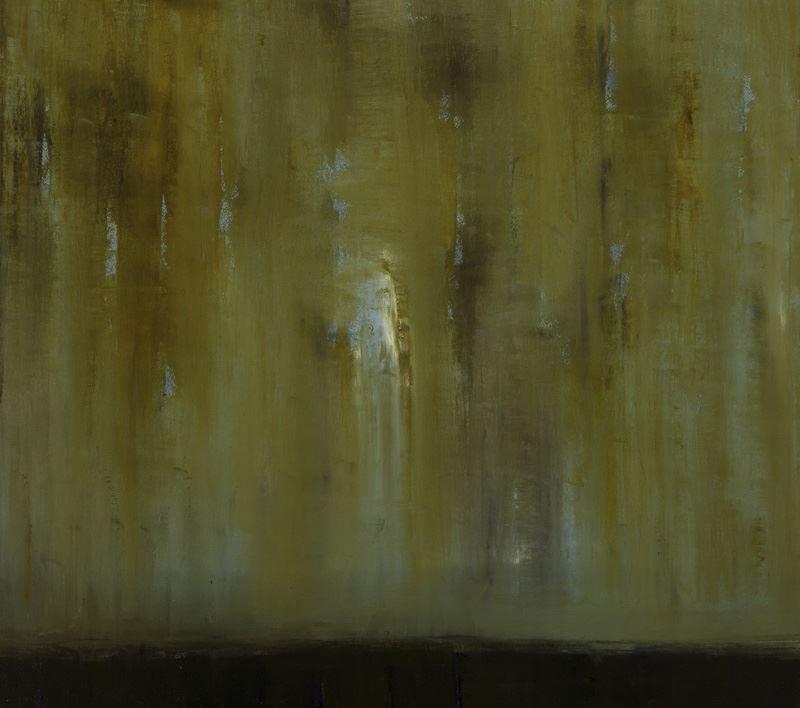 """Sherri Belassen """"Evidence"""" oil on canvas, 2001."""