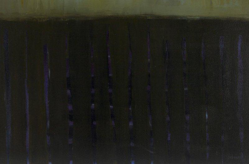 """Sherri Belassen """"Evidence"""" oil on canvas, 2001. - 2"""