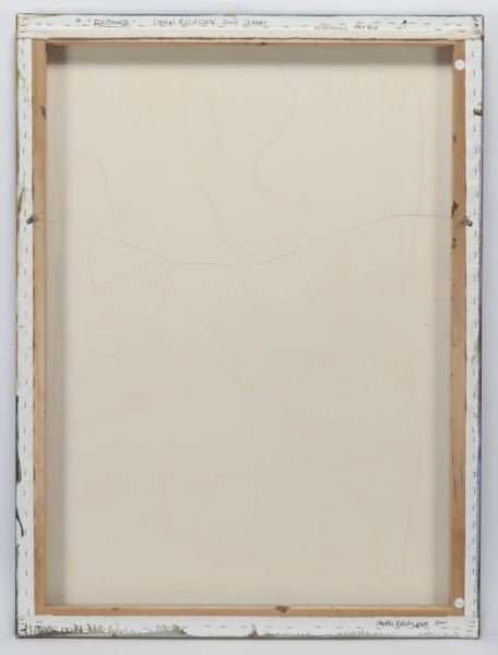 """Sherri Belassen """"Evidence"""" oil on canvas, 2001. - 4"""