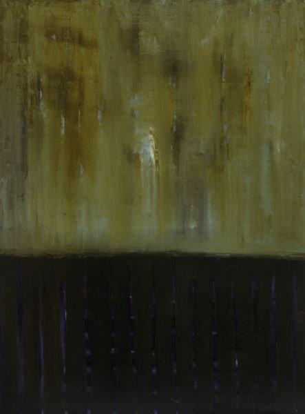 """Sherri Belassen """"Evidence"""" oil on canvas, 2001. - 7"""