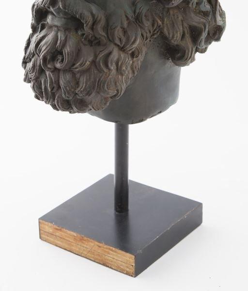 Greco-Roman head of Poseidon, hollow cast bronze - 7