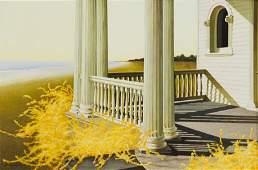 ZhenHuan Lu Wild Flowers oil on canvas 1996