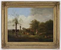 """Pieter Gerardus van Os """"Untitled (Peasants"""