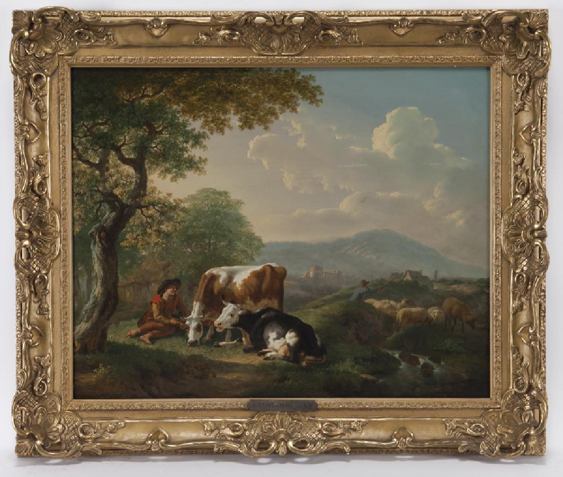 "Jean Charles Carpentero ""Herdsman with Cattle"""