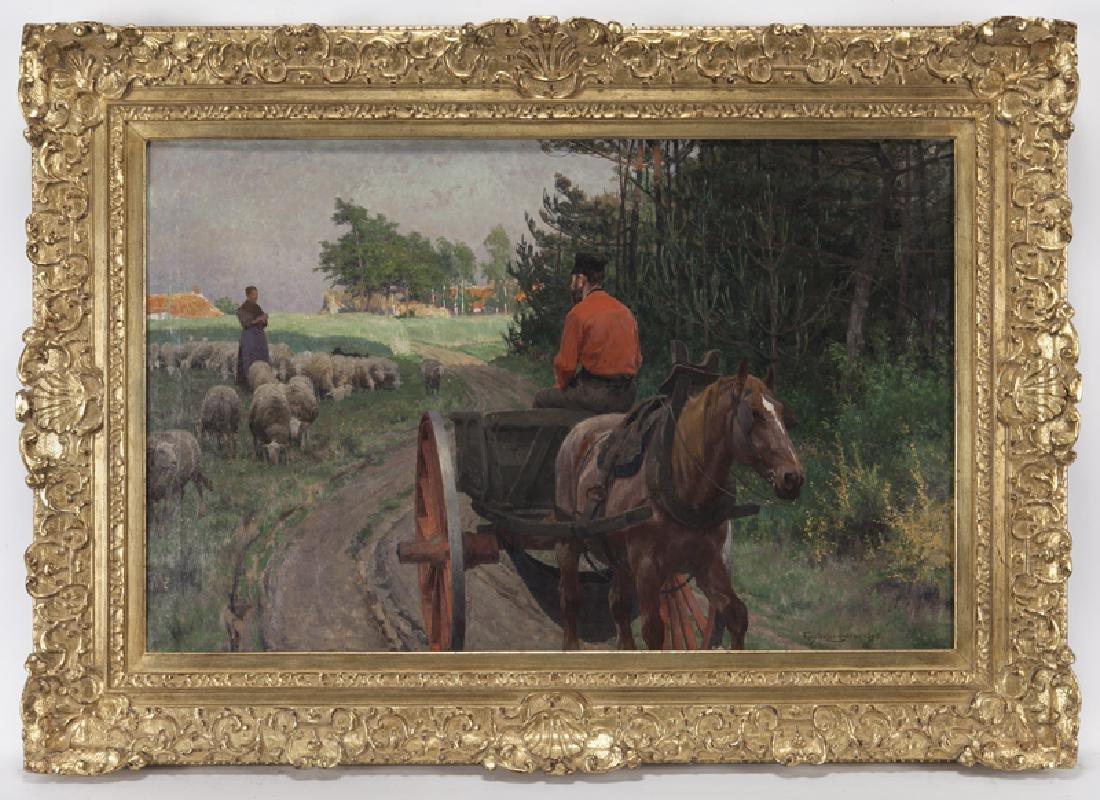 "Frans van Leemputten ""Meeting on the Heath"