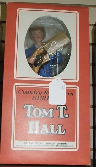 20: Tom T. Hall McCormick decanter in box