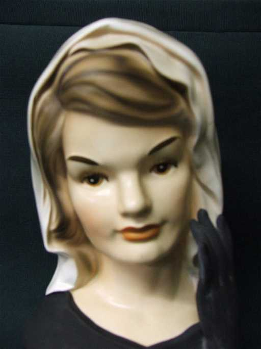 442 Jackie Kennedy Ladies Head Vase Inarco 1964 E1852